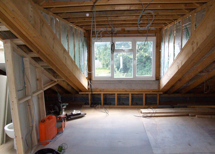 Ongar loft conversion and house extension i need extra room - Dormer window house plans extra personality ...